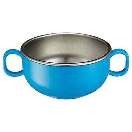 Picture of DIN DIN SMART™ STAINLESS STARTER BOWL - BLUE