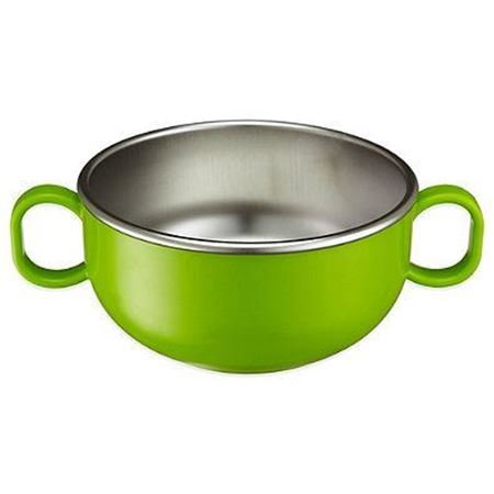 Picture of DIN DIN SMART™ STAINLESS STARTER BOWL - GREEN