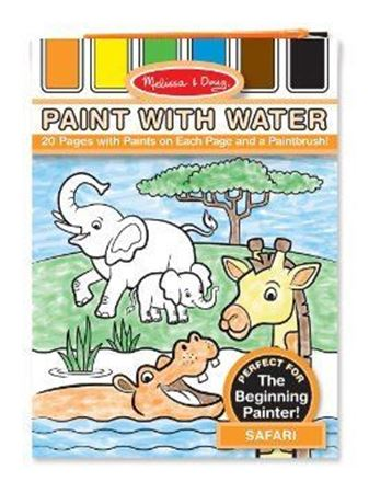 Picture of Safari Paint with Water Kids' Art Pad
