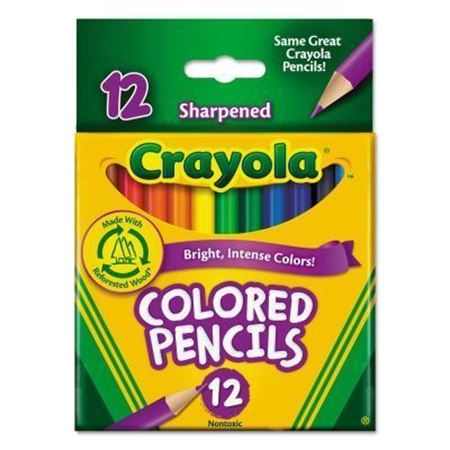 Picture of Short Colored Pencils 12 ct.