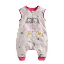 Picture of Vaenait Baby Soft Blanket Sleeping bag - Pink Owl