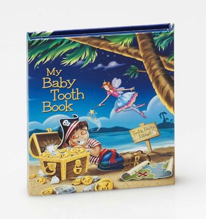 Picture of Baby Tooth Album- Tooth Fairy Island Collection- Boy
