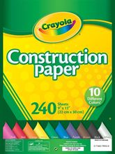 Picture of Construction Paper 240 ct.