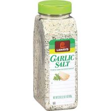 Picture of Lawry's Coarse Ground Garlic Salt with Parsley, 33 oz
