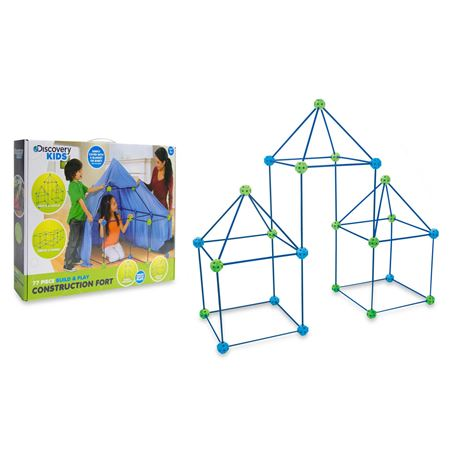 Picture of Discovery Kids™ 77-Piece Build and Play Construction Fort Set