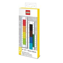 "Picture of LEGO 6""-12"" 2-in-1 Convertible Ruler"