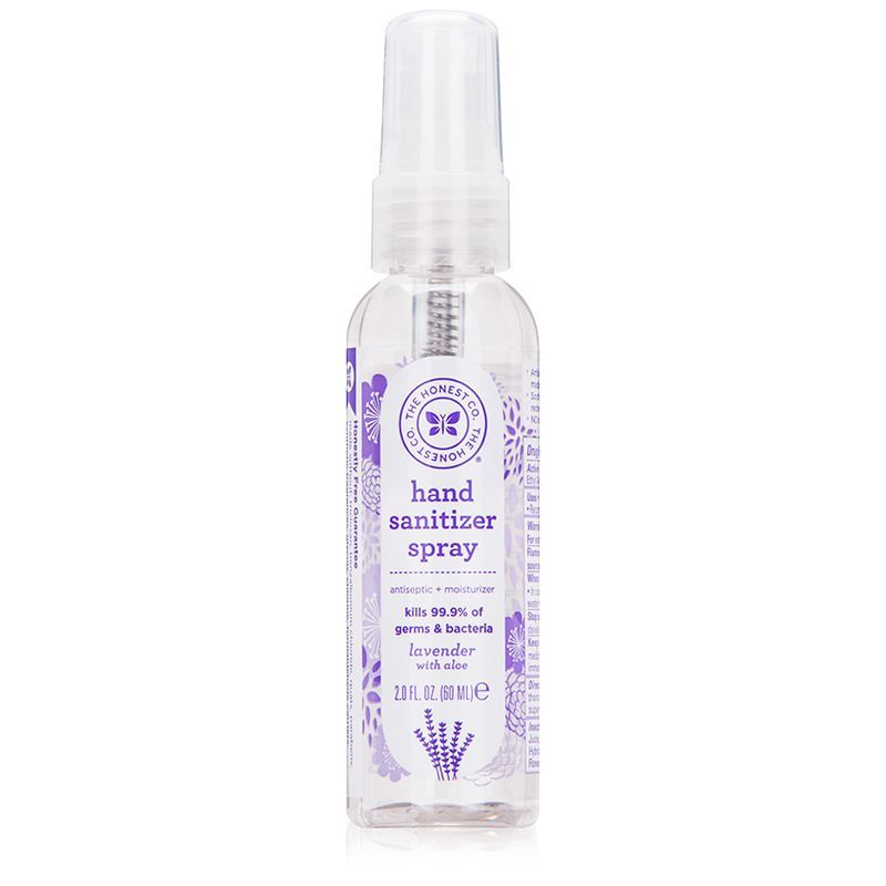 Oh My Outlet The Honest Company Hand Sanitizer Spray Lavender 2 Oz