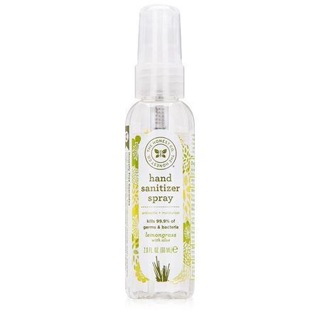 Picture of The Honest Company Hand Sanitizer Spray, Lemongrass - 2 oz