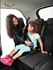Picture of mifold Grab-n-Go Booster Car Seat in Pink