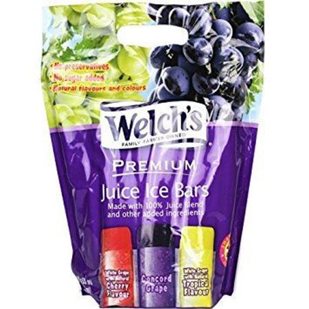 Picture of Welch's Premium 100% Grape Juice Ice Bars (52 Bars, 6.5 lbs)