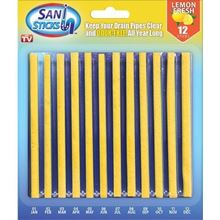 Picture of (By Air) Sani Sticks Drain Cleaner and Deodorizer, Lemon Scent -12