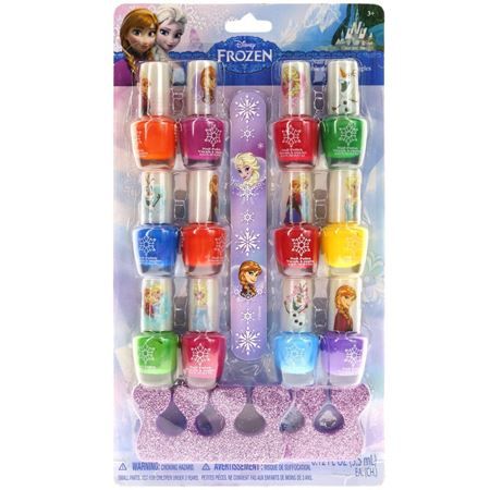 Picture of (By Air) Frozen 12 Pack Nail Polish with Nail File and Toe Spacers